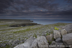 "View of ""Wormhole"" cliffs of Inishmore - Aran Islands (Ireland)"