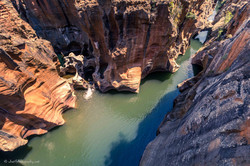 View of Bourke's Luck Potholes