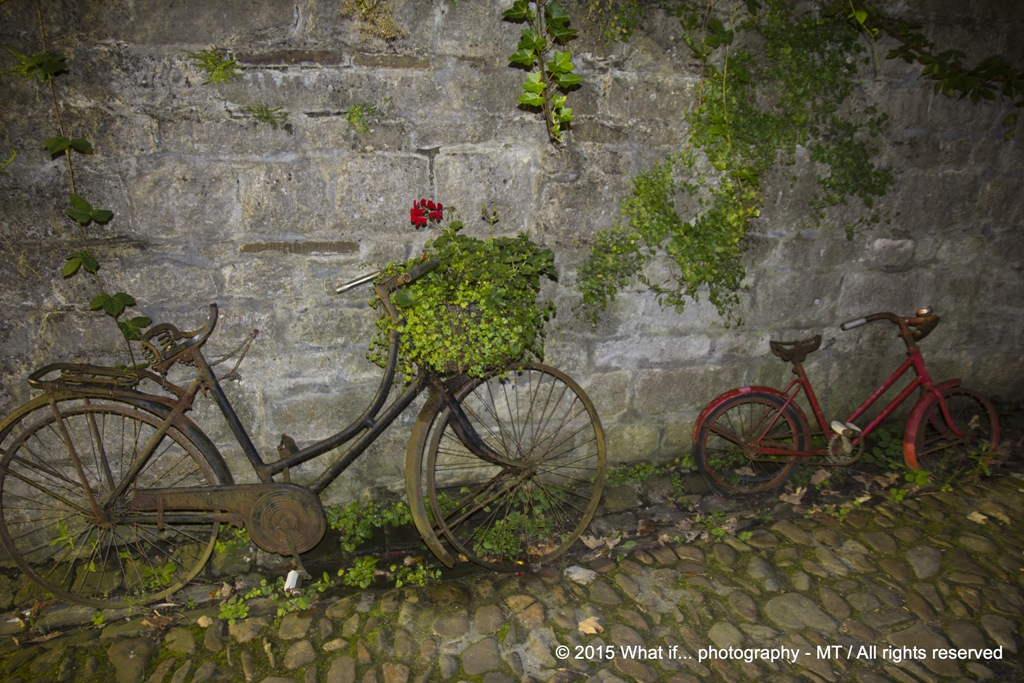 Old bikes (Durbuy)