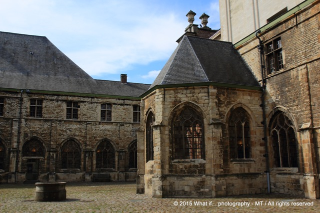 Magical court of Sint-Pieters abbey
