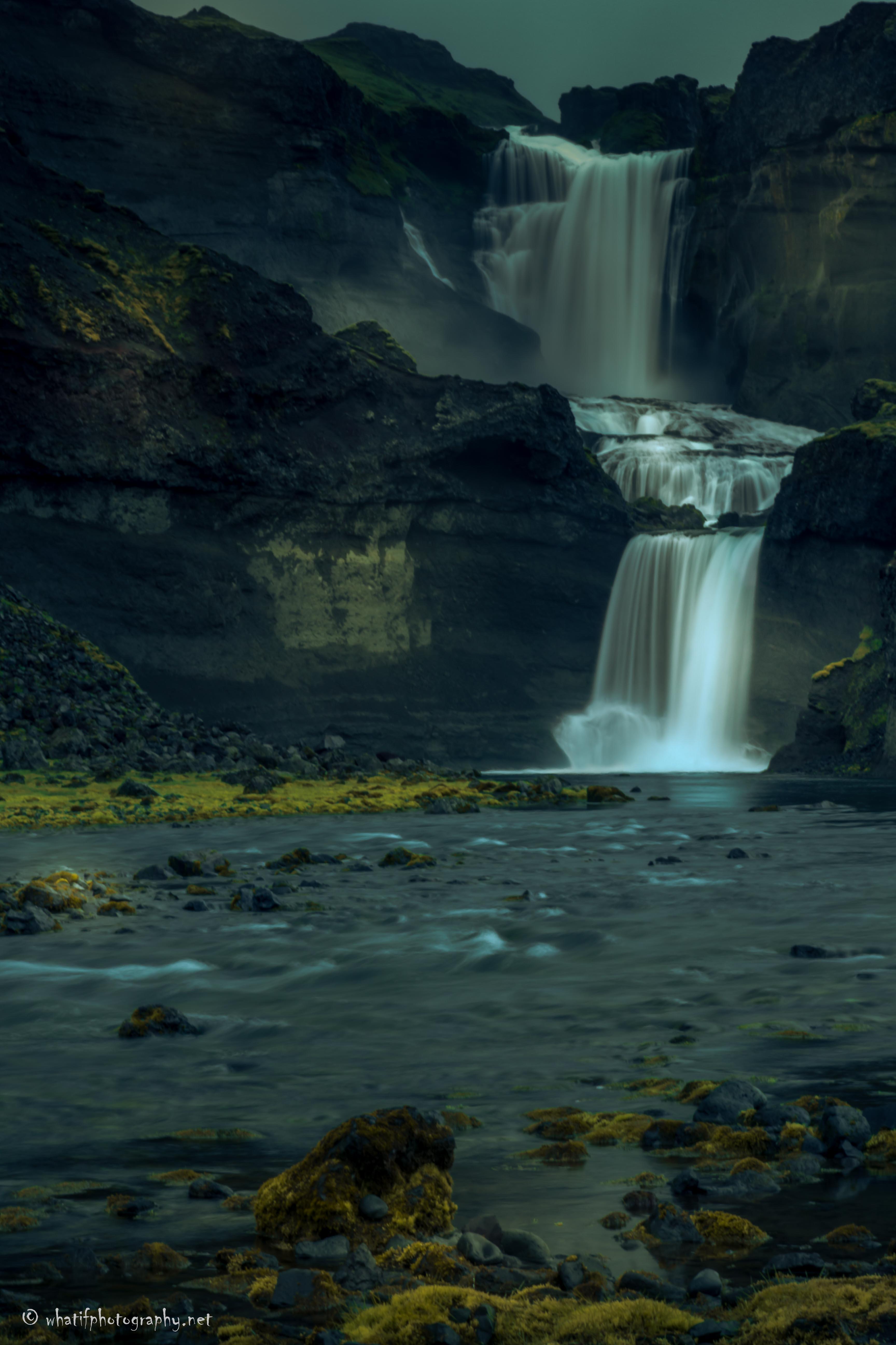 Ófærufoss_waterfall