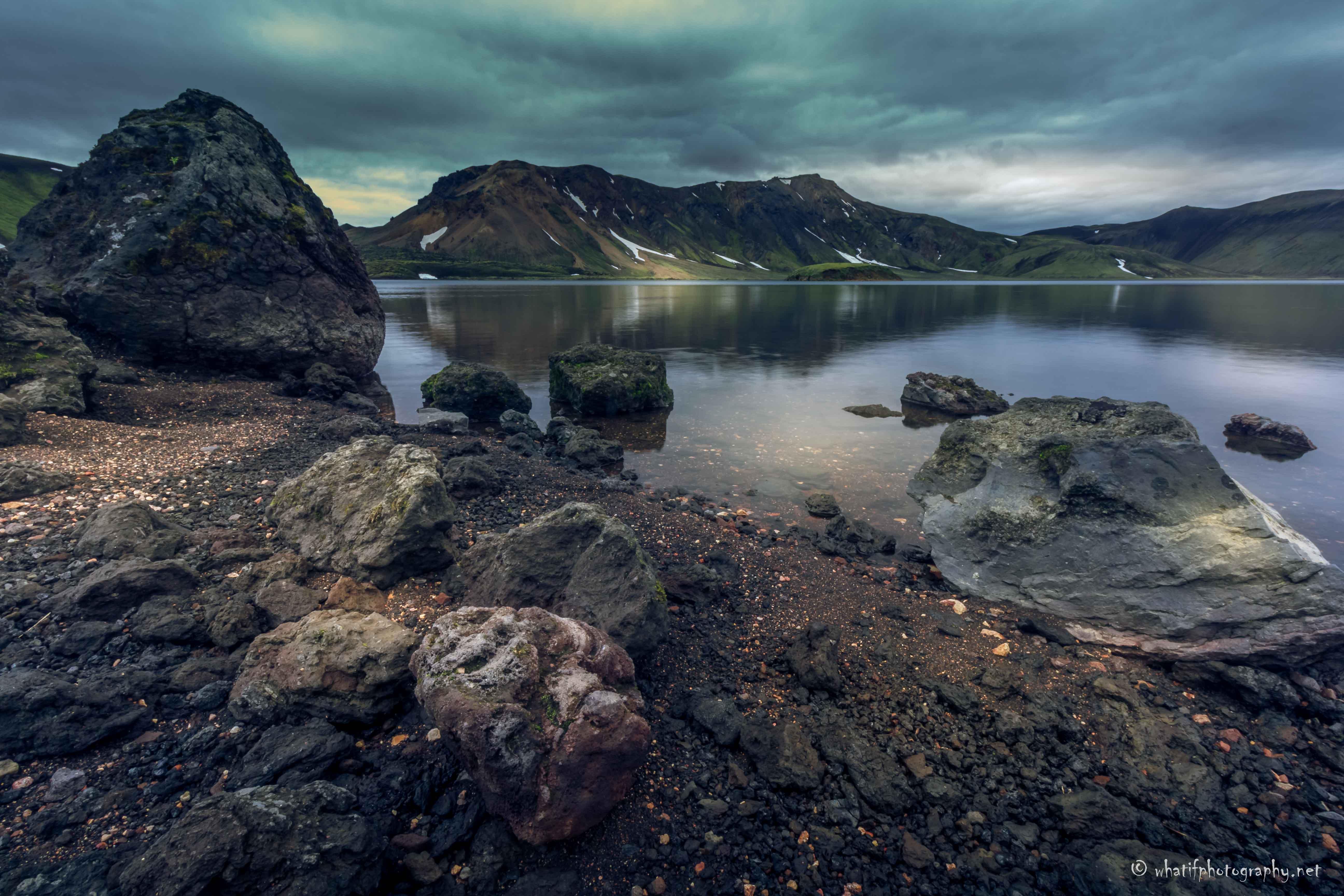 Landmannalaugar lake, Iceland