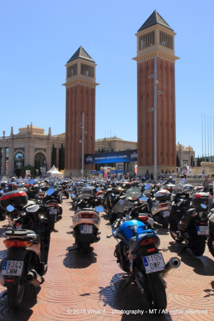 Motor convention at placa d'Espanya