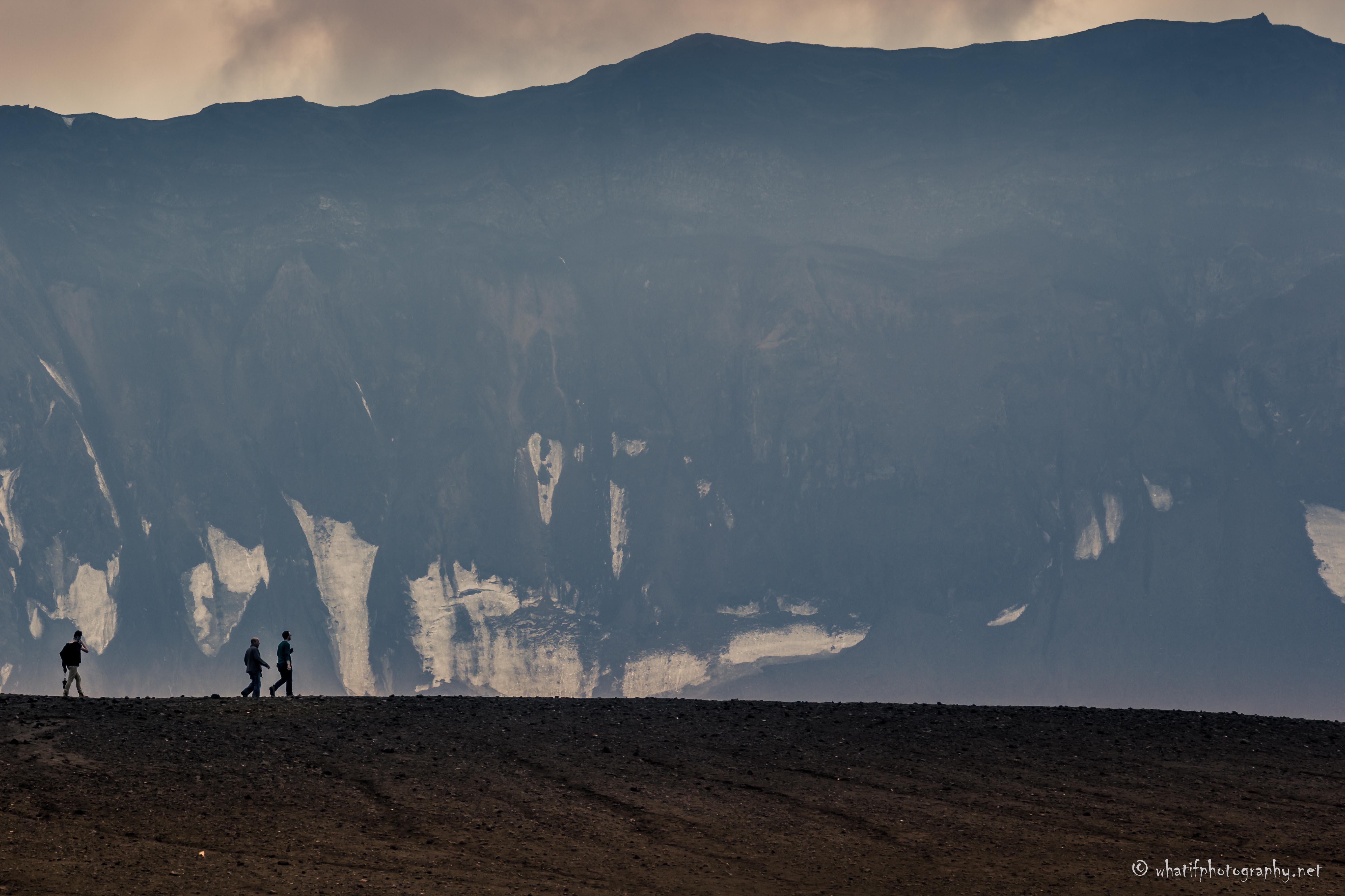 morning walk on Askja, Iceland