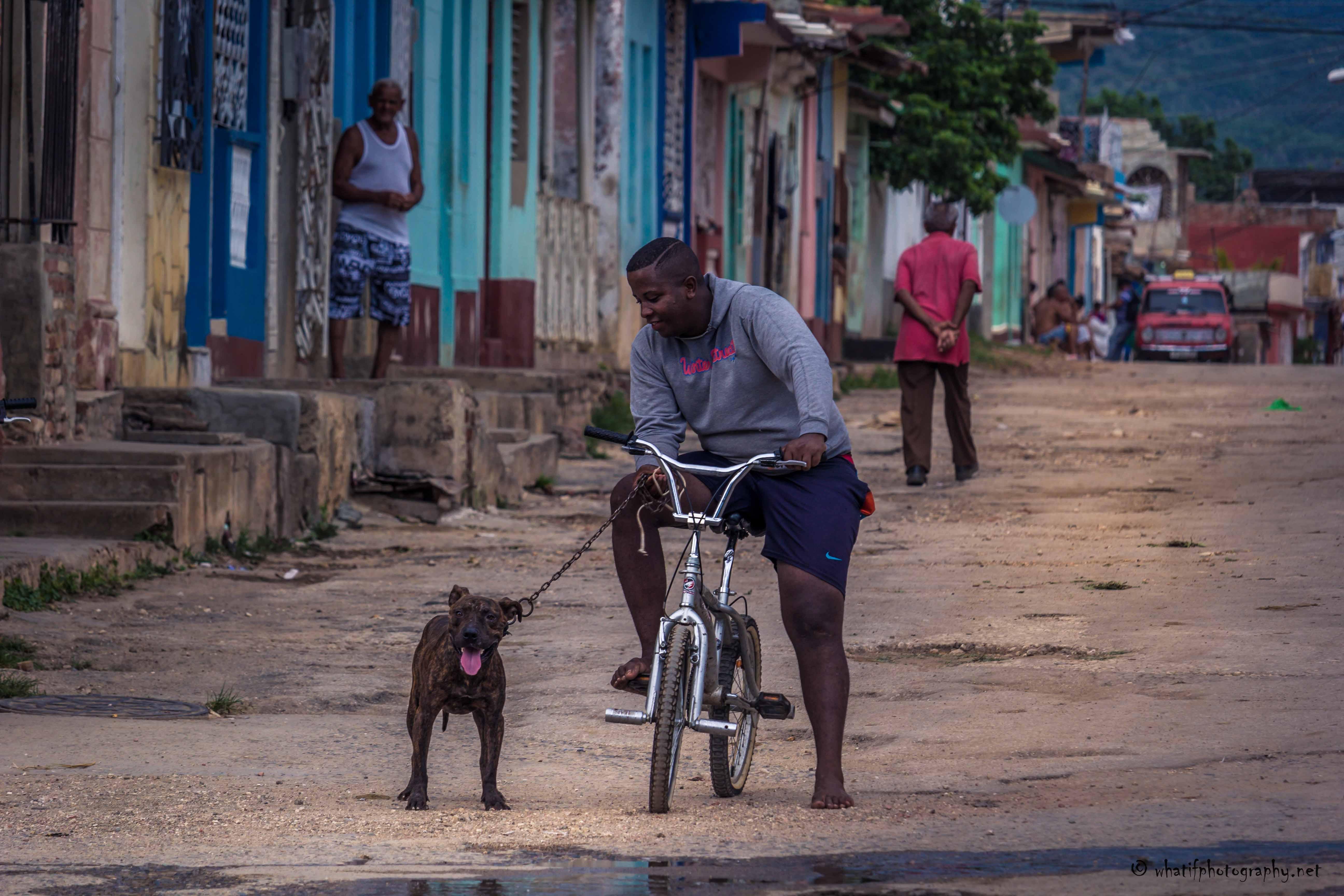 Friendship found on the street of Trinid