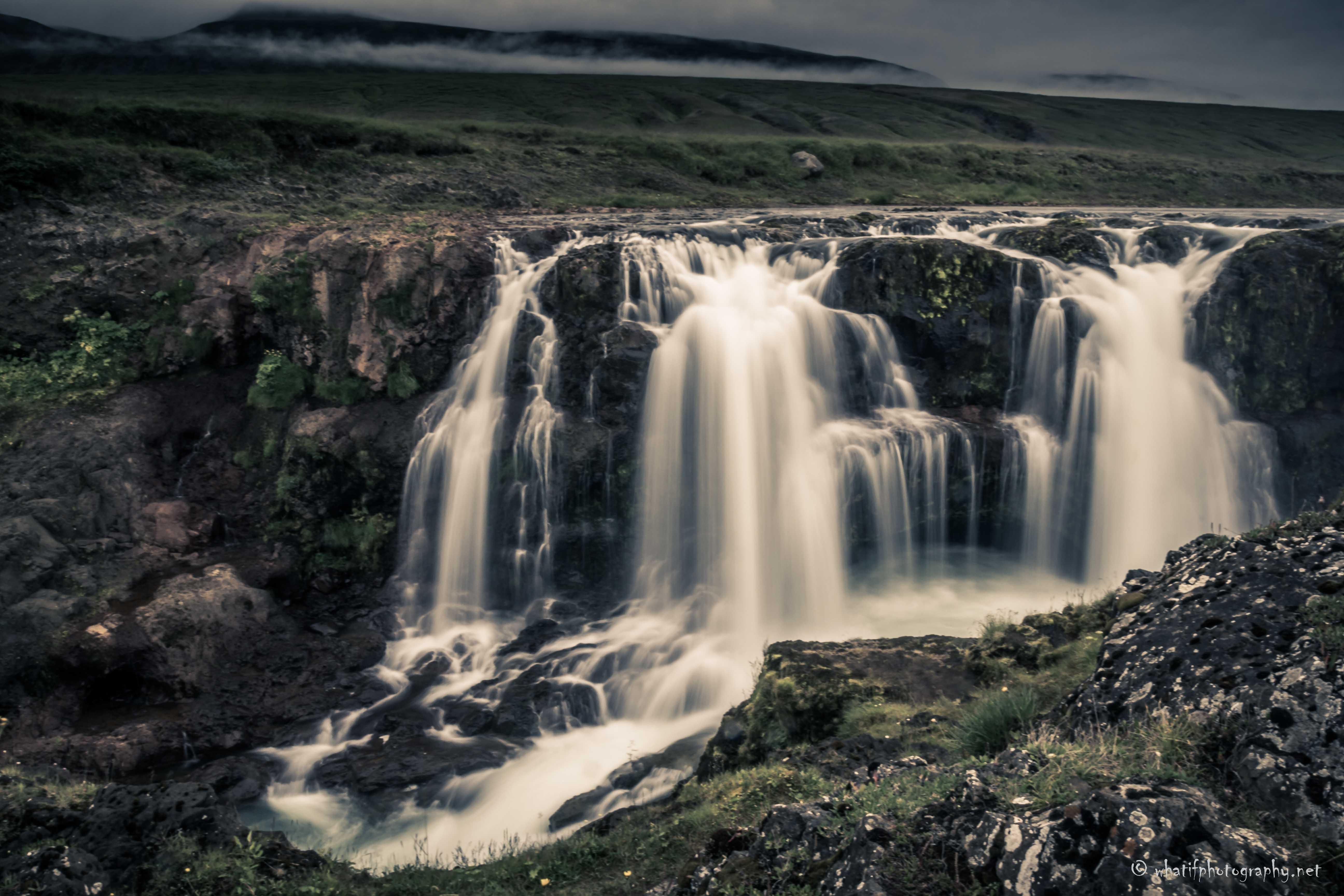 Kolufoss waterfall, Iceland