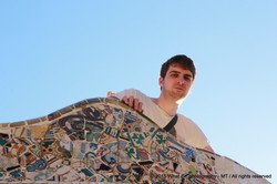 On top of the mosaic