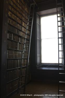 Daylight in the Trinity College Dublin (Ireland)