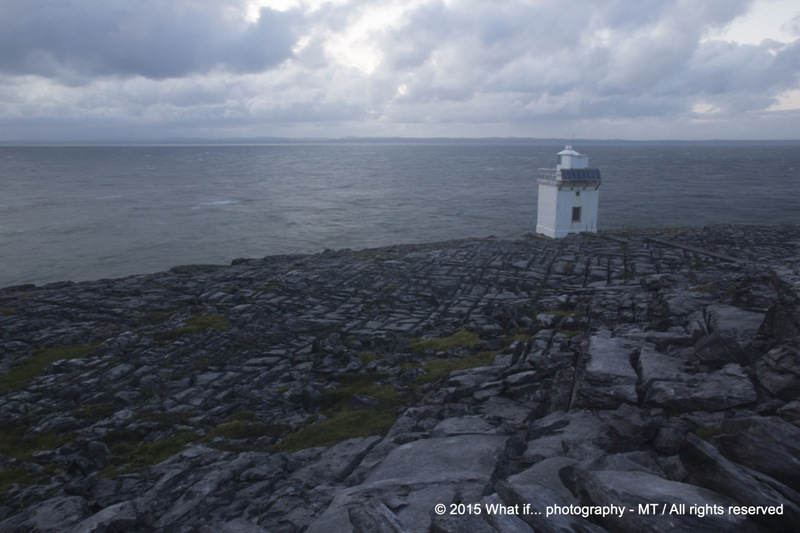 Lighthouse on Blackhead, Wild Atlantic Way - Clare (Ireland)