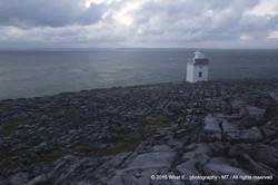 Lighthouse on Blackhead, Wild Atlantic Way - Clare (Ireland)