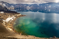 The amazing lake on the Askja vulcano, I