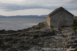 House by the Ocean on Inishmore, Aran Islands (Ireland)