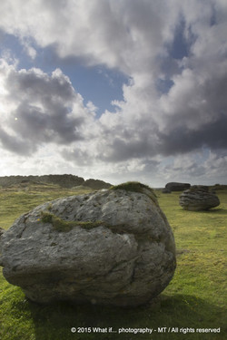 Impresive limestone rock, Fanore (Ireland)