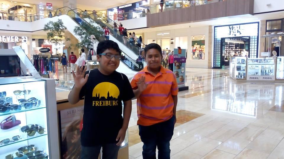 At the Tikal Futura Mall