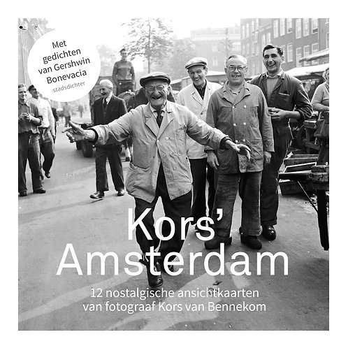 Kors' Amsterdam ansichtkaarten (set van 12)