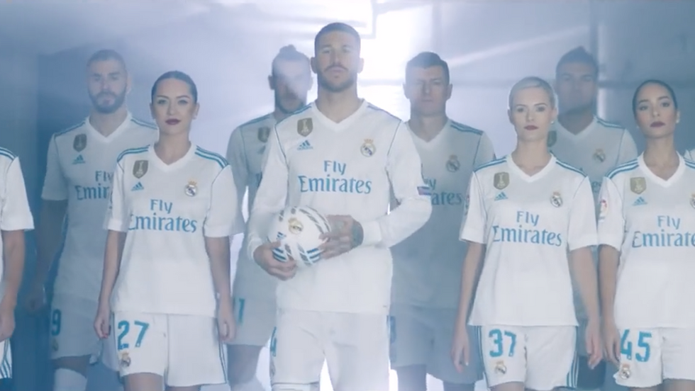 EMIRATES & REAL MADRID · ONE TEAM EMIRATES AIRLINE