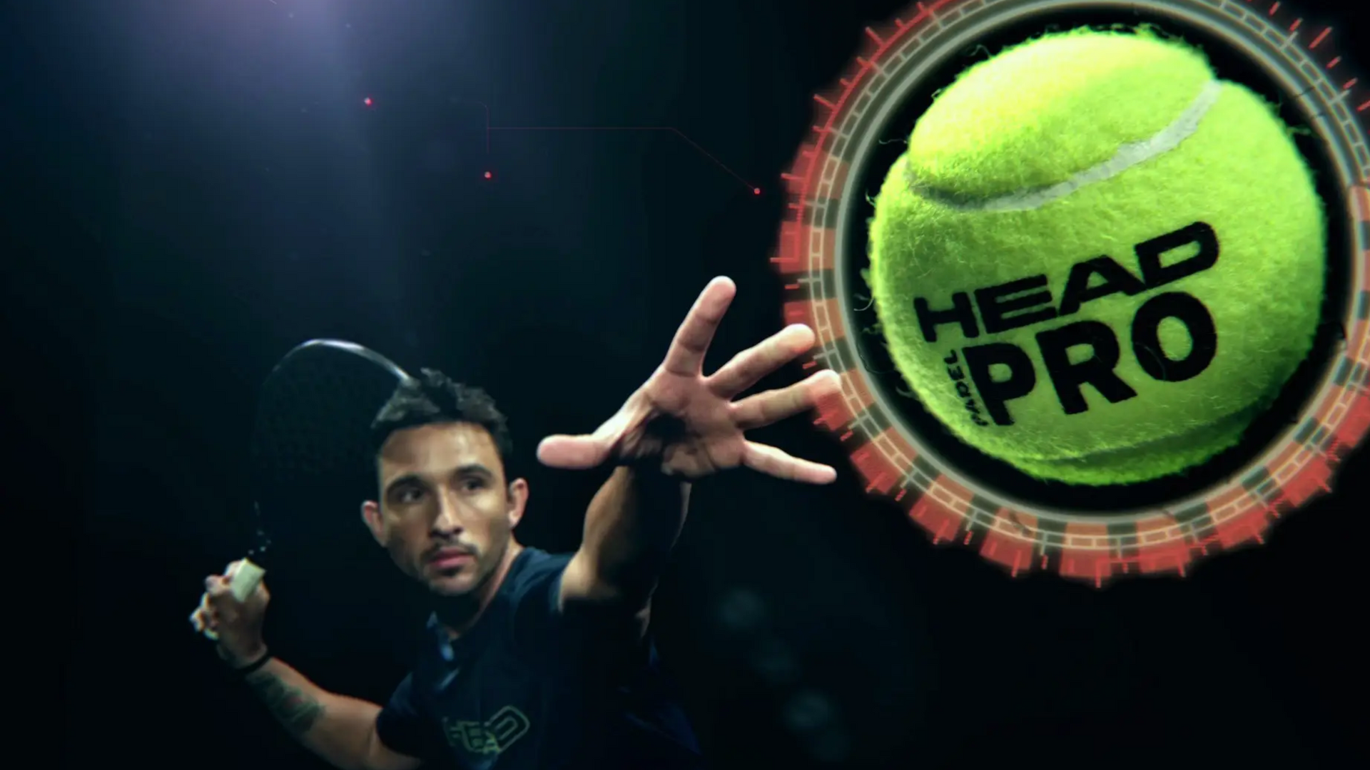 HEAD PADEL PRO · CHOOSE YOUR BALL