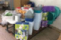 Utensílios de cozinha e bebedouros são adquiridos para o município