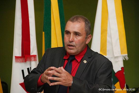 Vereador José Antonio de Aguiar é eleito presidente do Legislativo para 2018
