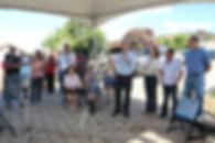 Prefeito Cacá inaugura obras de urbanização no bairro Nossa Senhora Aparecida