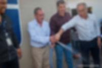Prefeito Cacá inaugura sistema de abastecimento de água da COPASA MG em Arantina