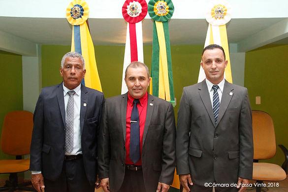 """Vereador José Antonio, o """"campeão"""", é empossado no Legislativo Municipal"""