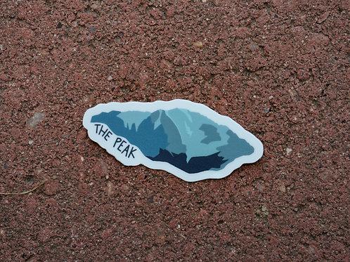 The Peak Sticker