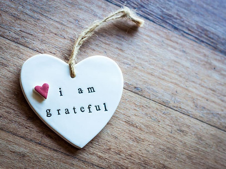 """""""When you are grateful, fear disappears and abundance appears."""" – Anthony Robbins"""