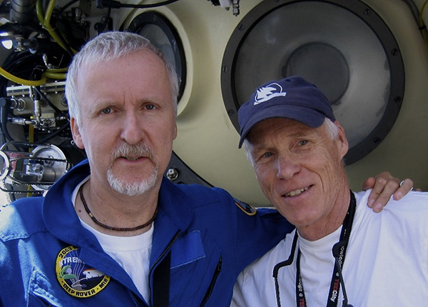 James Cameron and Dr. Joe MacInnis