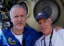 James Cameron and Dr. Joe MacInnis