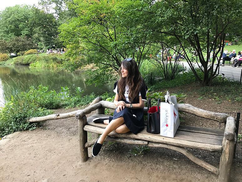 British lifestyle blogger in central park, new york | monaliisa.me