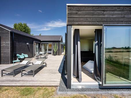 Das schwarze Haus bei SPO - Ferienhaus an der Nordsee für 6 Personen
