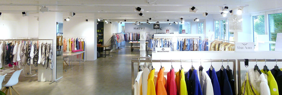 FashionSuite Hamburg // Dörte & Olaf Schrader // MARC AUREL · MILESTONE · MARY'S BY MARY · NADINE H · SHANNA · COPPER LUXURY / FORREST & LOVE · HAUPT · HERRLICHER · KITARO · SHOCKLY · GIANNI LUPO · SURPLUS WARDROBE