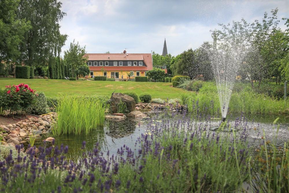 Bei den Offenen Gärten wirkten am 10. Juni 2018 insgesamt 24 Gärten mit. MartinsHof Kleinparkanlage.