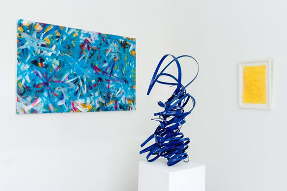 Works by Bernhard Adams, Peter Müller, Mena Moskopf (from left to right)