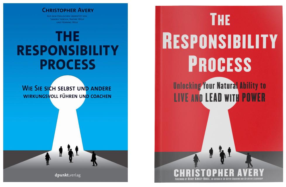 The Responsibility Process® – links die deutsche Übersetzung, rechts das amerikanische Original