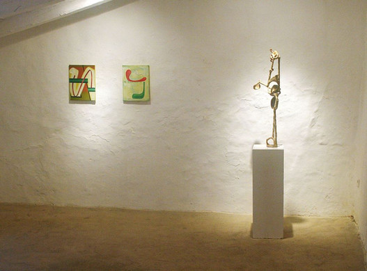 Paintings by Anna Nero and Sculpture by Paul Schuseil