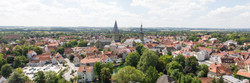 Soester Stadtkern Luftbild