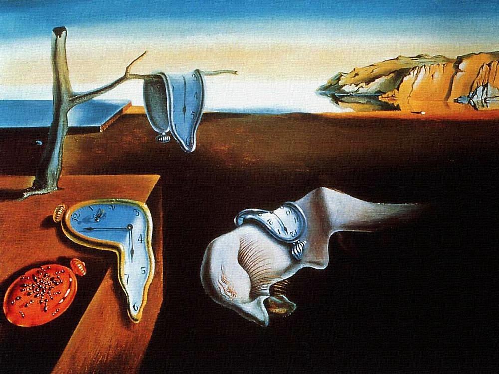 "Salvador Dali, ""Persistance of Memory"", 1931, MoMA."