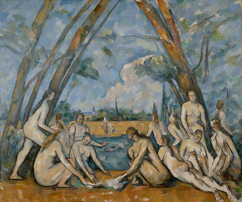"Paul Cezanne, ""The Large Bathers"", 1898–1906, MoMA."