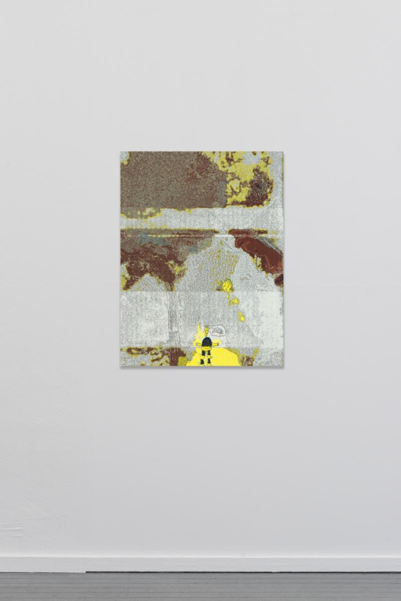 Raphael Brunk, TYT_06, 2018 – Inkjet on canvas – 90 x 67 cm – Edition of 50