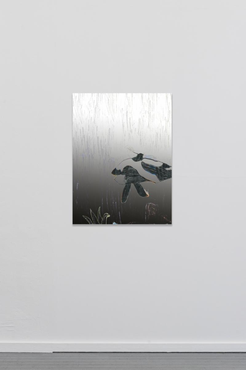 Raphael Brunk, TYT_03, 2018 – Inkjet on canvas – 90 x 67 cm – Edition of 50