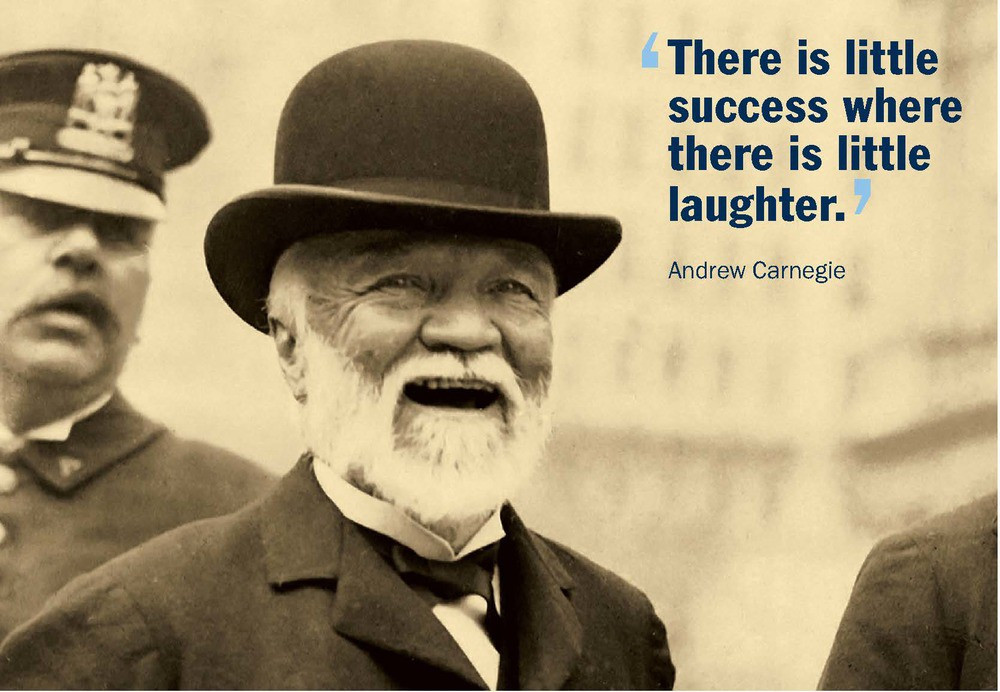 Andrew Carnegie has founded The Carnegie International, a contemporary art exhibition, in 1896.