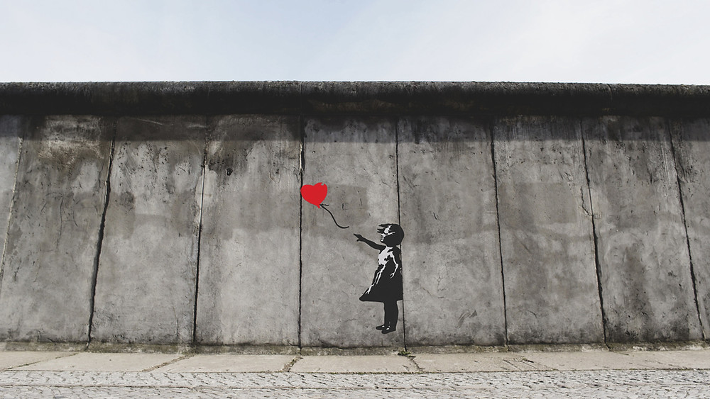 Banksy Girl with Balloon / Photo by Eric Ward on Unsplash