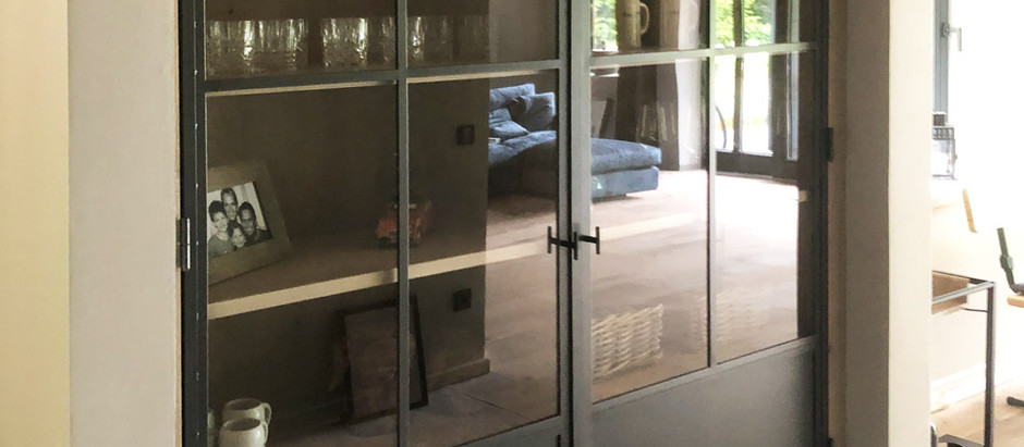 Privat · Industrielook mit Interieur-Glas