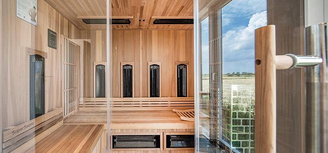 Das schwarze Haus bei SPO - Ferienhaus an der Nordsee - Golfurlaub - Kiten und Surfen - Familienurlaub - Ferienhaus für 6 Personen mit Sauna