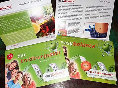 Schlank & fit | Sie wollen mehr ... noch mehr Pfunde verlieren? Das bietet Ihnen das Figur-Konzept easybalance (deutsch) & easyvital.ru (russisch)