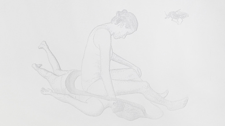 Amparo Sard I Untitled (Precarious reactions series 1) I 2019 I Perforated paper I 32,5 x 46 cm