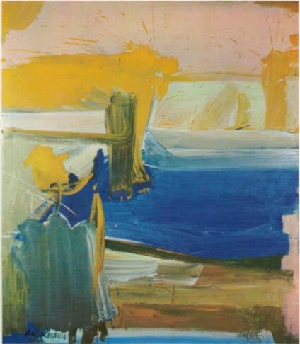 Willem de Kooning, Untitled, 1961, Oil on Canvas, 203 x 178 cm Image: Thomas, Karin: DuMont's kleines Sachwörterbuch zur Kunst des 20. Jahrhunderts, 1977, Köln.