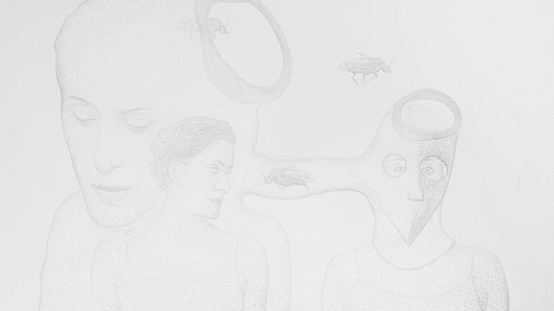 Amparo Sard I Untitled (Precarious reactions series) I 2020 I Perforated paper I 32,5 x 46 cm